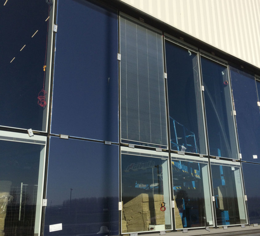 Beépítés közben: Audi, Győr